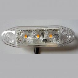LED 12-30V BLANC/ORANGE