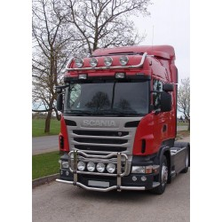PARE BUFFLE SUPPORT DE FEUX SCANIA R SERIES 2009+