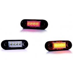 LED 12-30V BLANC/ORANGE/ROUGE/BLEU