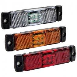 LED 12-30V BLANC/ORANGE/ROUGE